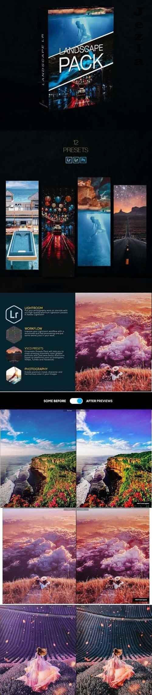 Landscape Kit Lightroom Presets 28814070