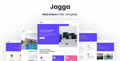 ThemeForest - Jagga v1.0 - Real Estate HTML Template - 28870091