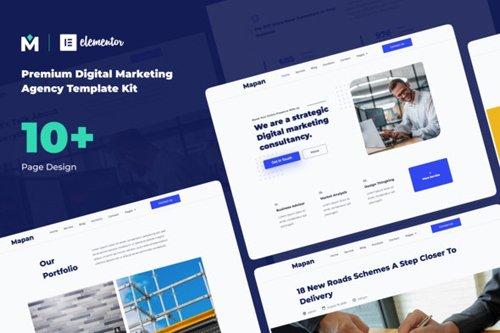 ThemeForest - Mapan v1.0 - Digital Marketing Template Kits - 28358432