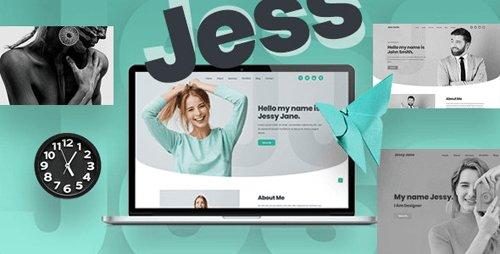 ThemeForest - Jess v1.1 - Bootstrap 4 Personal Portfolio Template - 28194162
