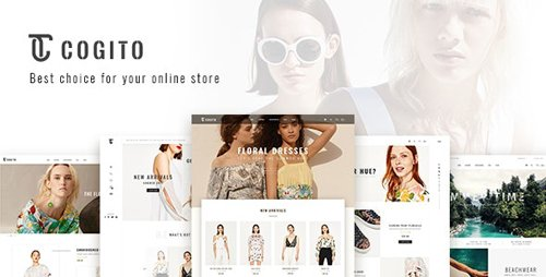 ThemeForest - Cogito v1.4 - Clean, Minimal WooCommerce Theme - 20395536