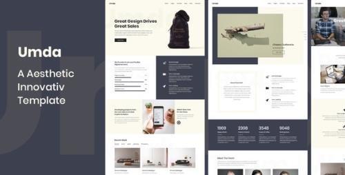 ThemeForest - Umda v1.0 - Innovative Multipurpose Creative Template - 21286219
