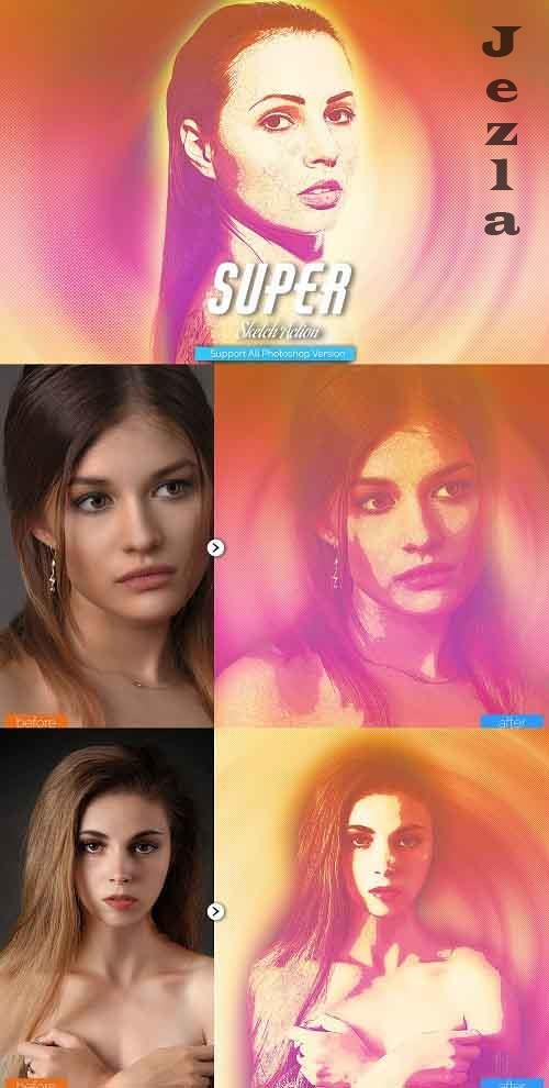 Super Sketch PHSP Action - 5468390