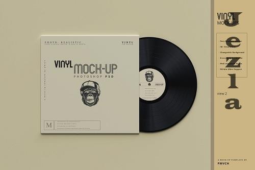 Vinyl Mockups 5485891