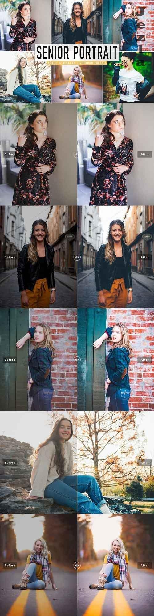 Senior Portrait Pro Lightroom Preset - 5495537 - Mobile & Desktop