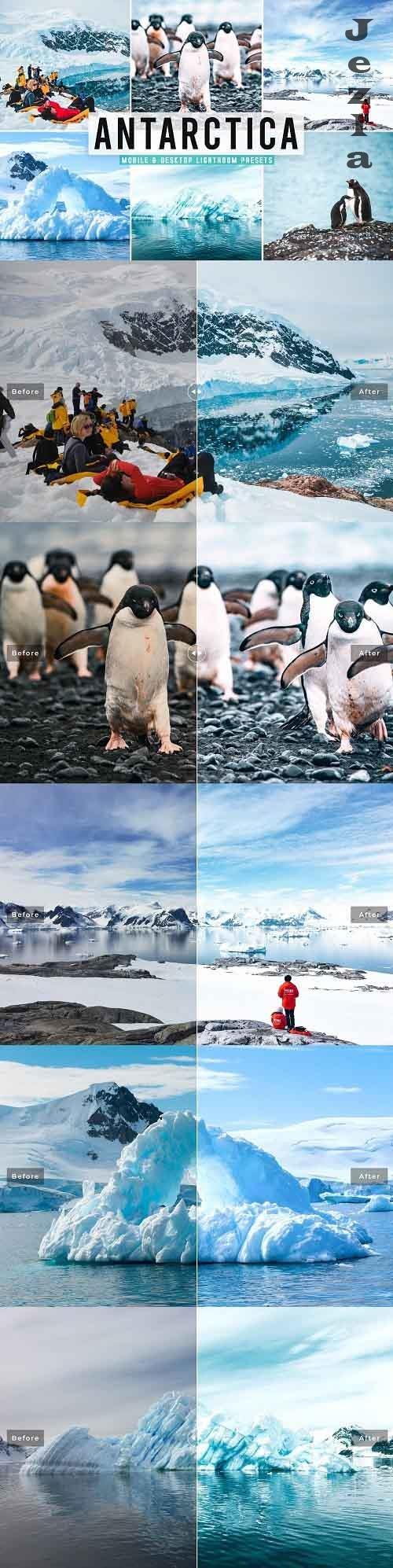 CreativeMarket - Antarctica Pro LRM Presets - 5495663 - Mobile & Desktop