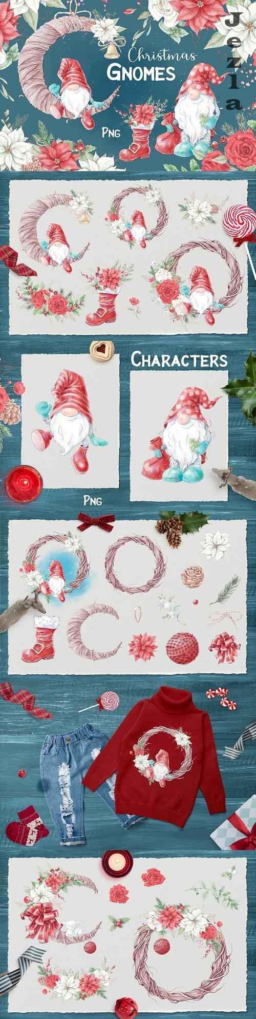 Christmas gnomes - 5494141