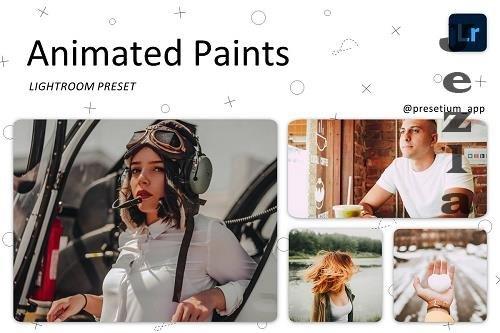 CreativeMarket - Animated Paints - Lightroom Presets 5227444