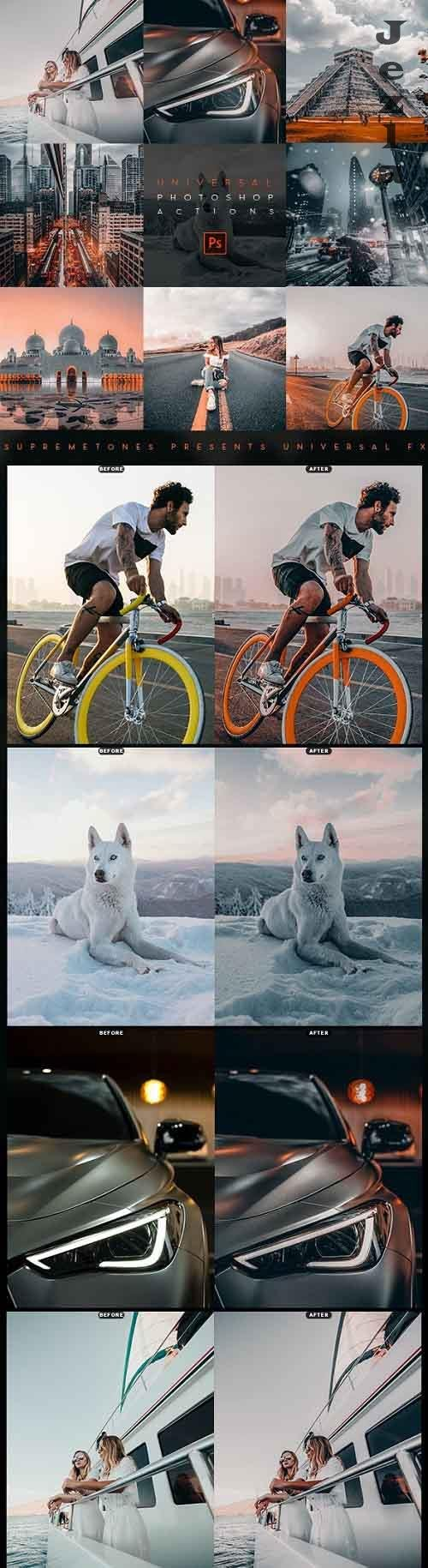 GraphicRiver - UNIVERSAL Photoshop Actions 28301543