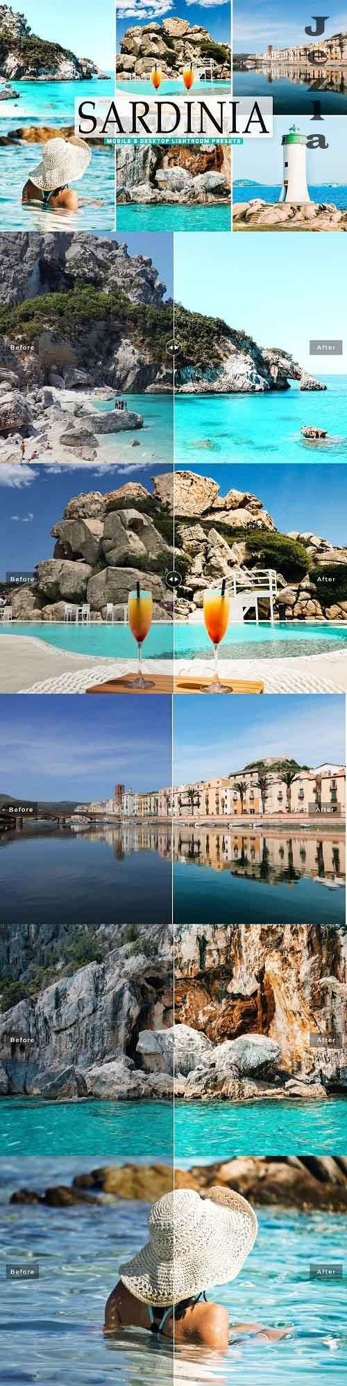 CreativeMarket - Sardinia Pro LRM Presets - 5498511 - Mobile & Desktop