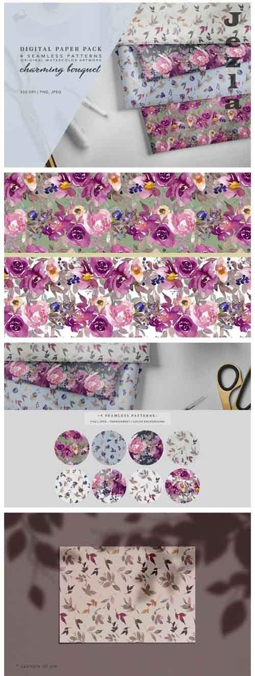Seamless Pattern Collection Repeatable - 971529