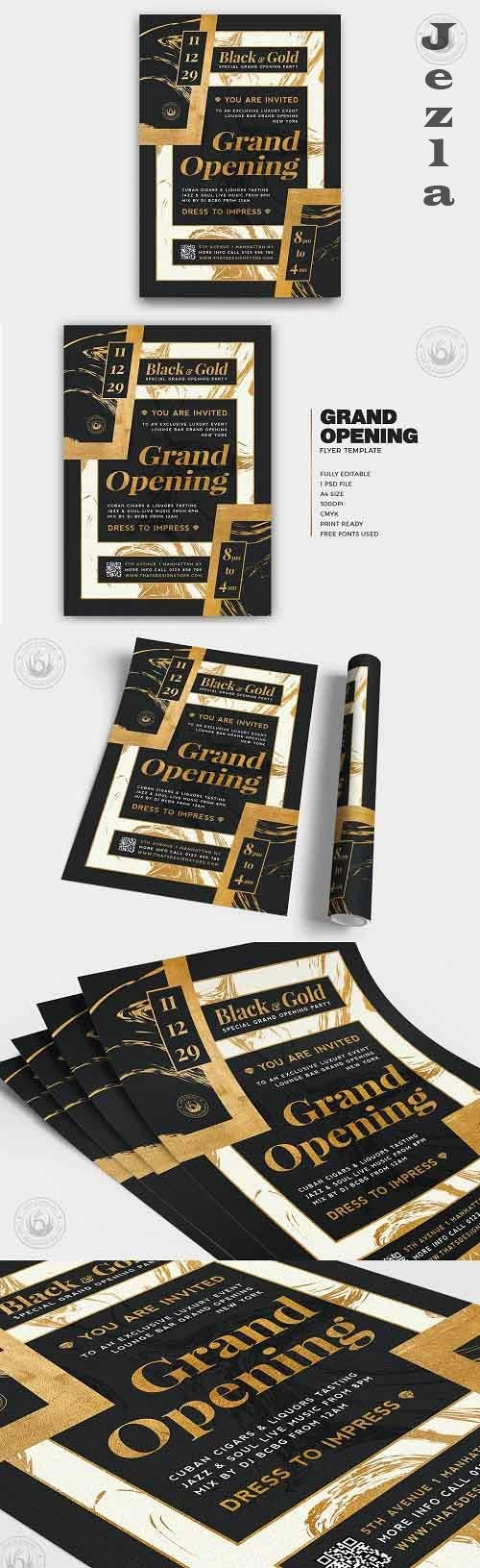 Grand Opening Flyer Template V3 - 5499182
