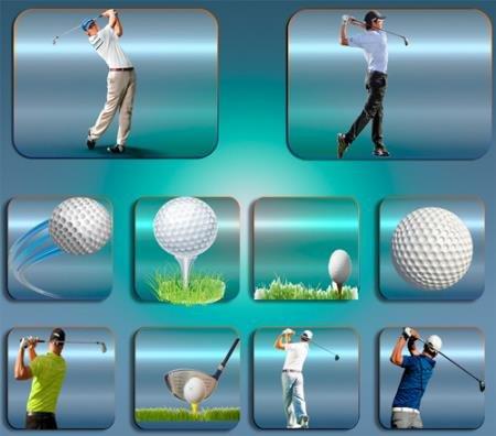 Png клипарты - Игра в гольф