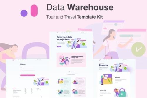 ThemeForest - Stroranger v1.0 - Data Warehouse Elementor Template Kit - 28703846