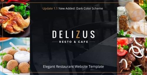 ThemeForest - Restaurant Website Template - Delizus v1.1.1 - 19267867