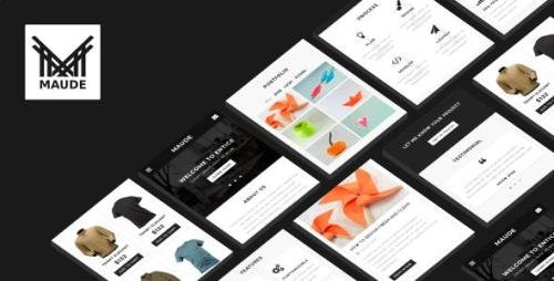 ThemeForest - Maude v1.0 - Mobile Template - 21080066