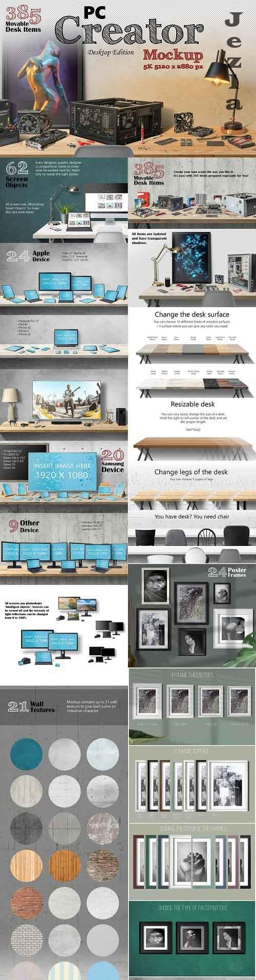 CreativeMarket - PC Creator 5K - Desktop Edition 5262639