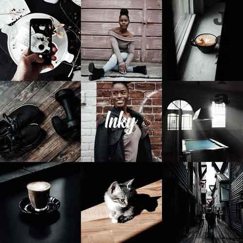 CreativeMarket - Inky Collection - Desktop & Mobile 5052996