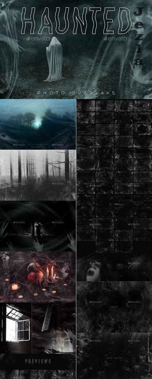 GraphicRiver - Haunted Photo Overlays 28717333
