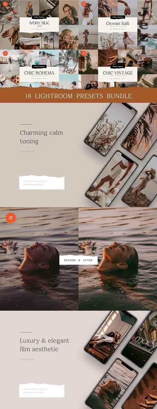 CreativeMarket - 18 TOP Chic Presets Bundle 5503905