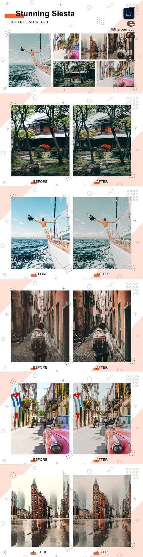 CreativeMarket - Stunning Siesta - Lightroom Presets 5238798