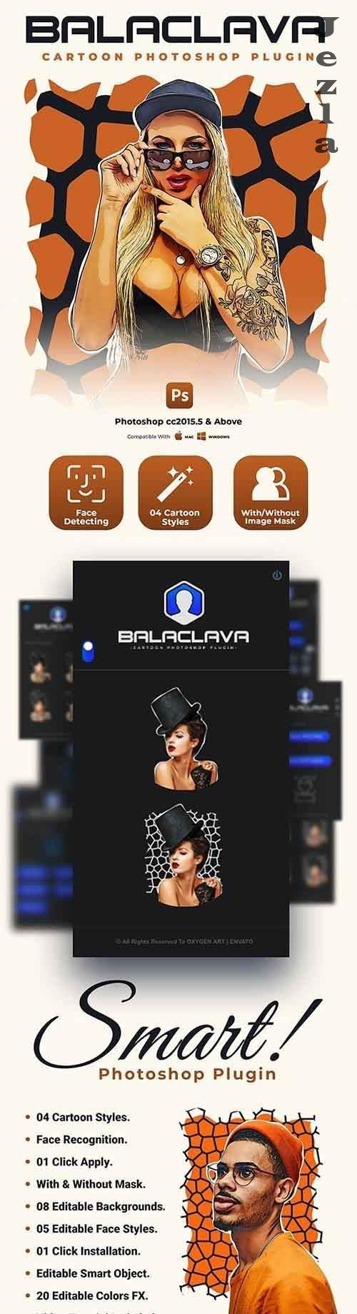 GraphicRiver - Balaclava - Cartoon Photoshop Plugin 28776537