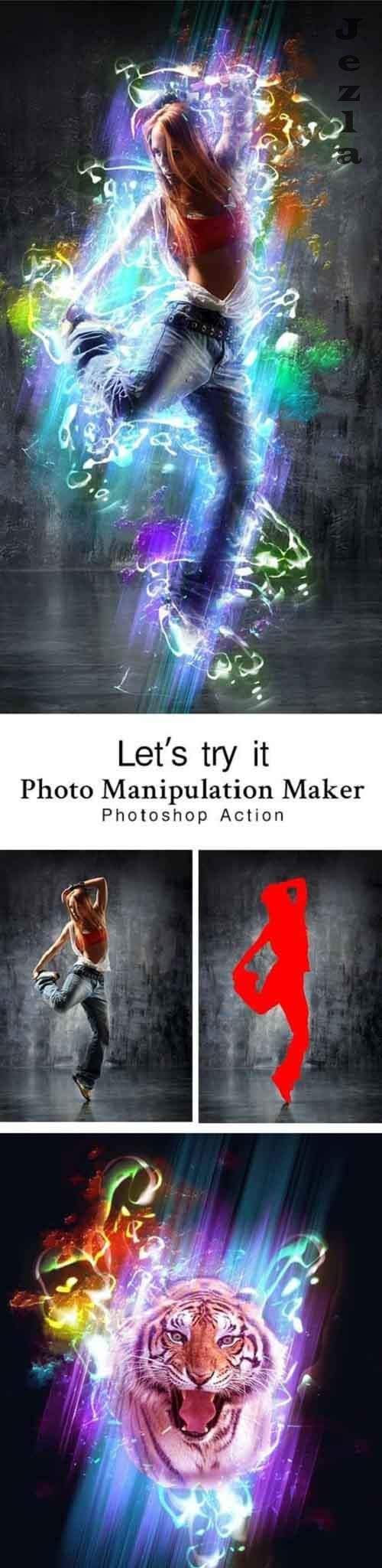 GraphicRiver - Photo Manipulation Maker PHSP Action 28807039