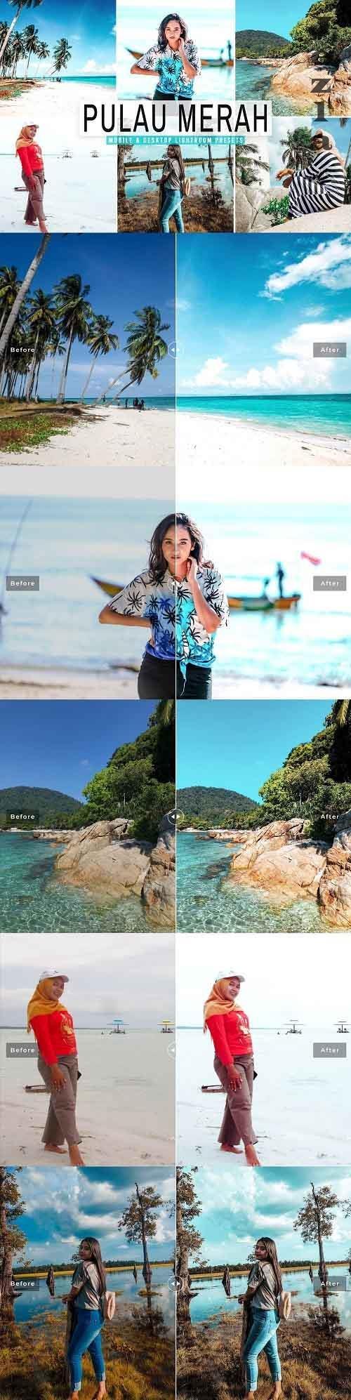 Pulau Merah Pro Lightroom Presets - 5517323 - Mobile & Desktop