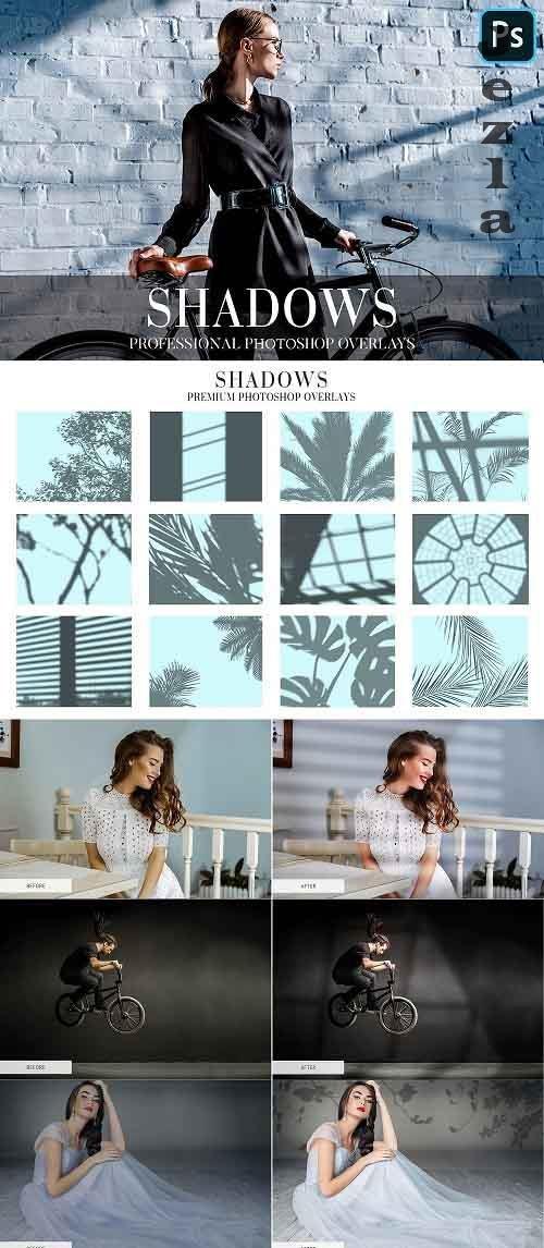CreativeMarket - Shadows Overlays Photoshop 4943045