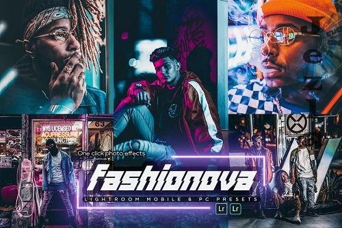 Fashionova Lightroom Presets - 995U3RP