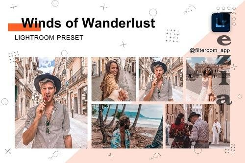 CreativeMarket - Wanderlust - Lightroom Presets 5238844