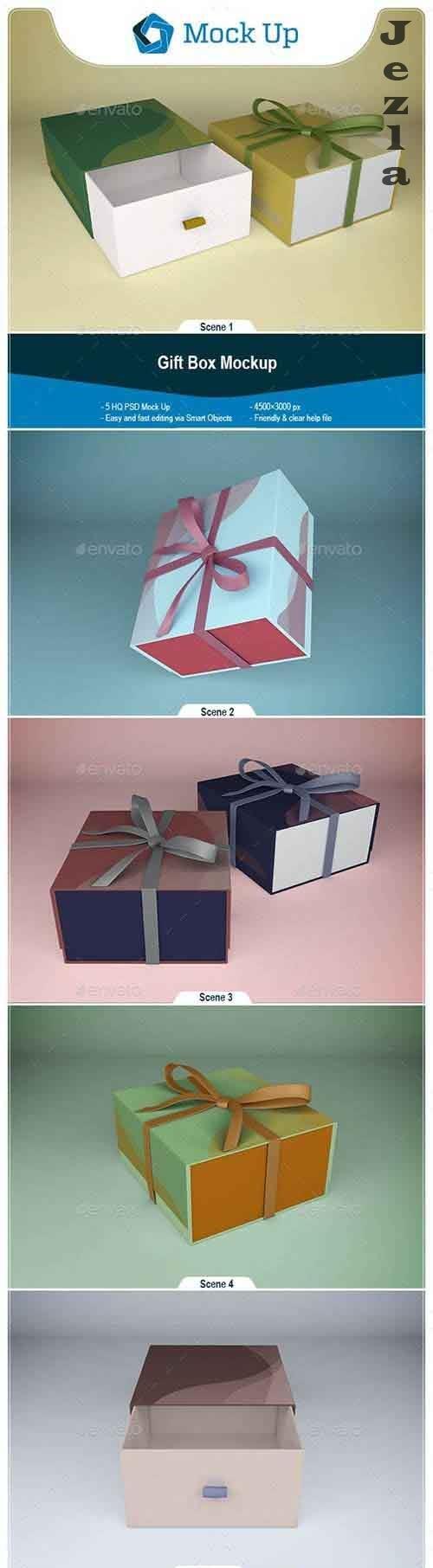 GraphicRiver - Gift Box Mockup 28784760