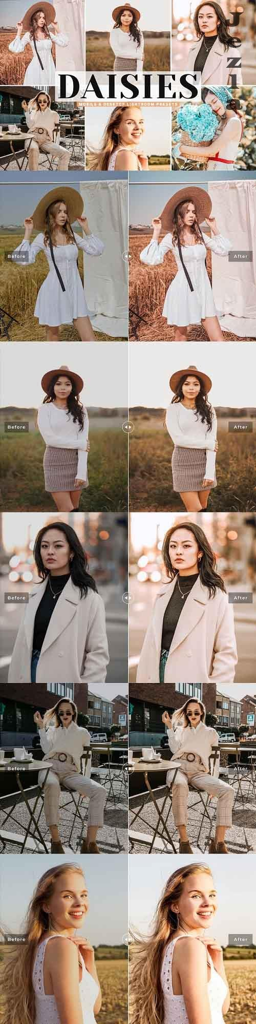 Daisies Pro Lightroom Presets - 5534493 - Mobile & Desktop