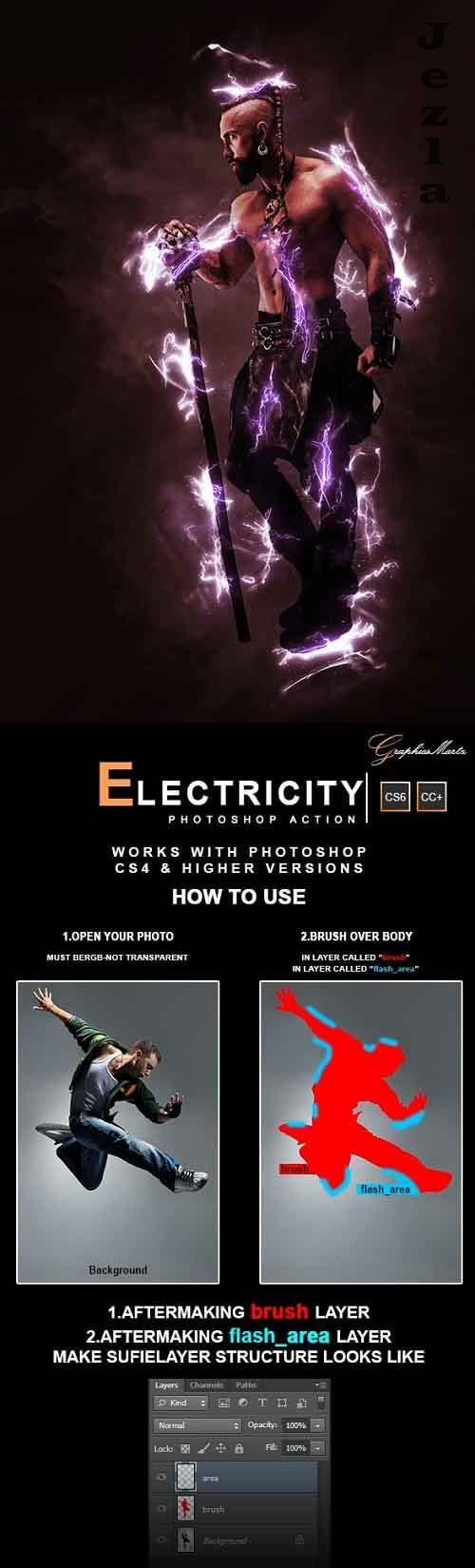 GraphicRiver - Electricity PHSP Action 28441466