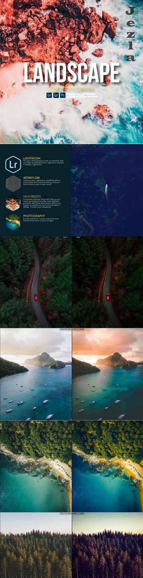 GraphicRiver - Landscape Kit Lightroom Presets 28446377