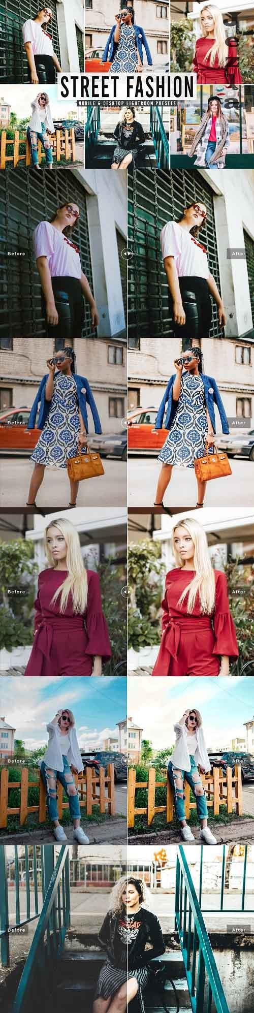Street Fashion Pro Lightroom Presets - 5539480 - Mobile & Desktop