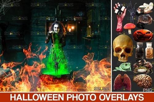 Halloween clipart Halloween overlay, Photoshop overlay - 953031