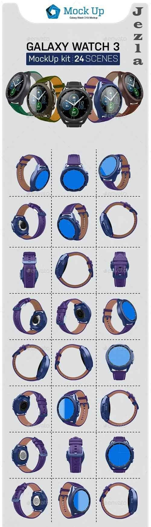 GraphicRiver - Smart Watch 3 Kit 28844265