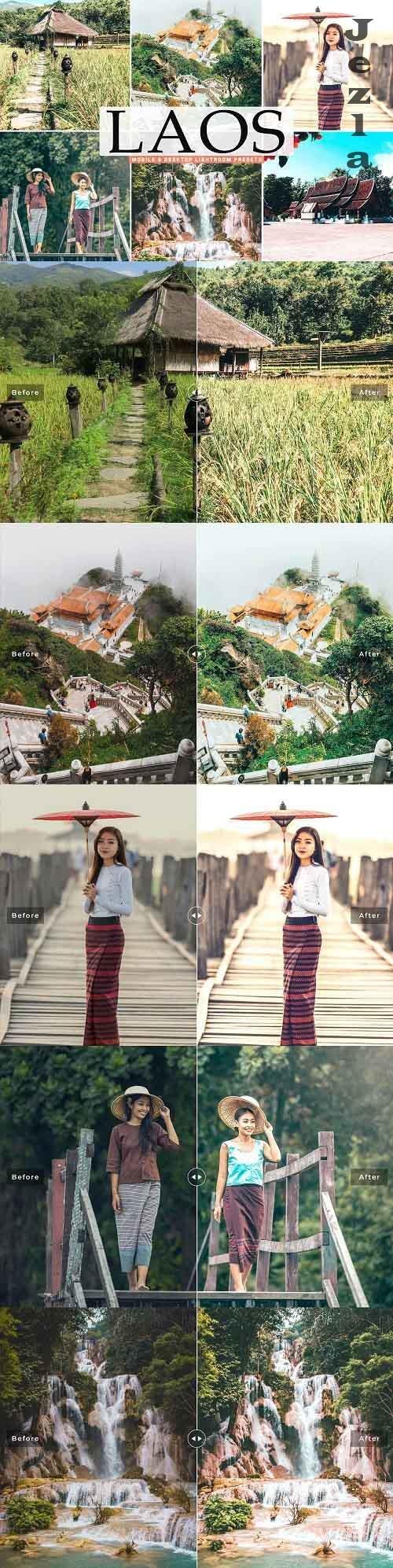 Laos Pro Lightroom Presets - 5542264 - Mobile & Desktop