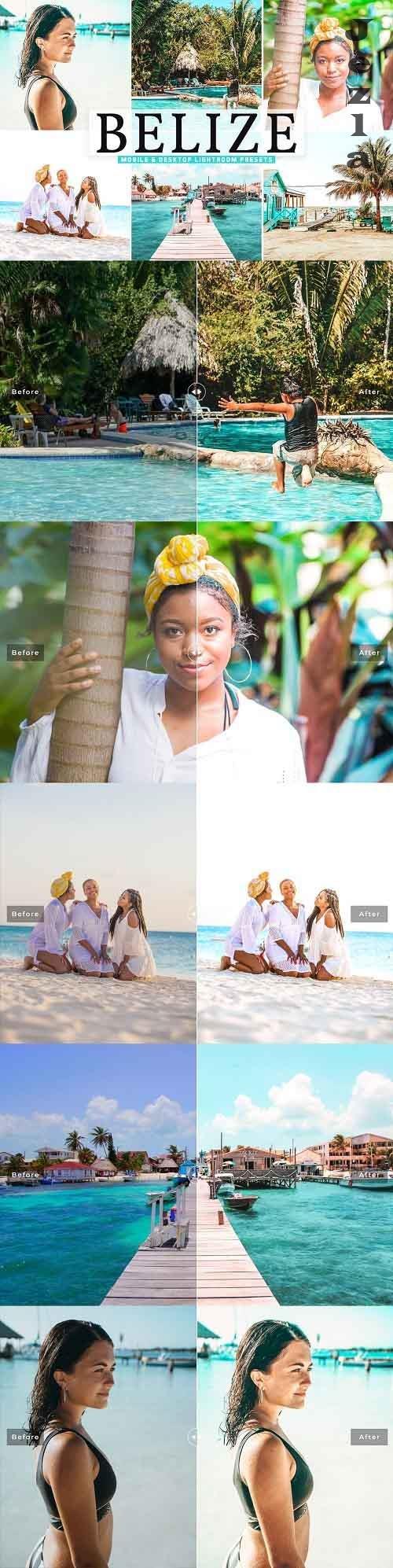 Belize Pro Lightroom Presets - 5542295 - Mobile & Desktop