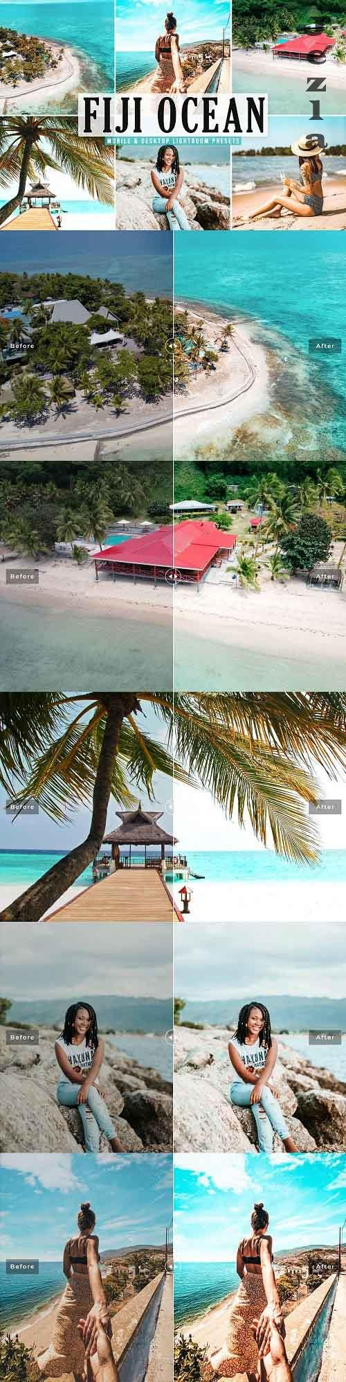 Fiji Ocean Pro Lightroom Presets - 5542413 - Mobile & Desktop