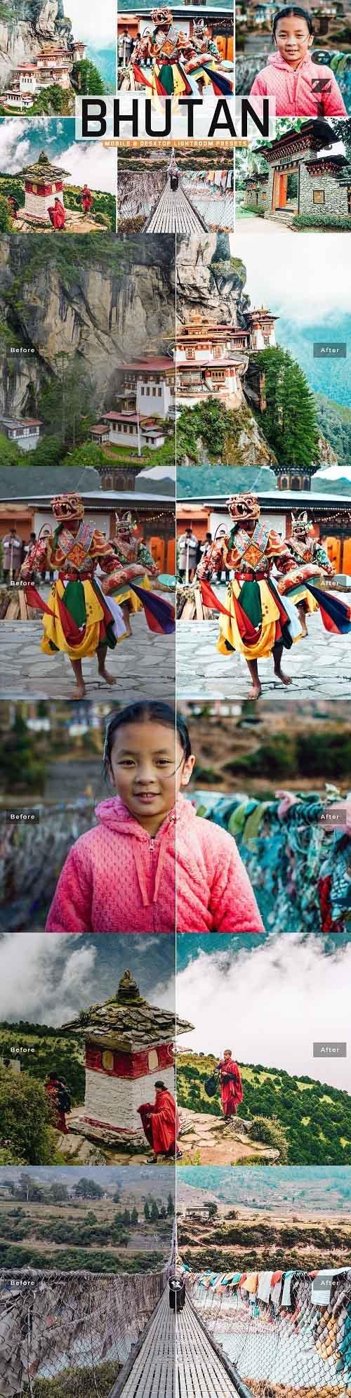 Bhutan Pro Lightroom Presets - 5542490 - Mobile & Desktop
