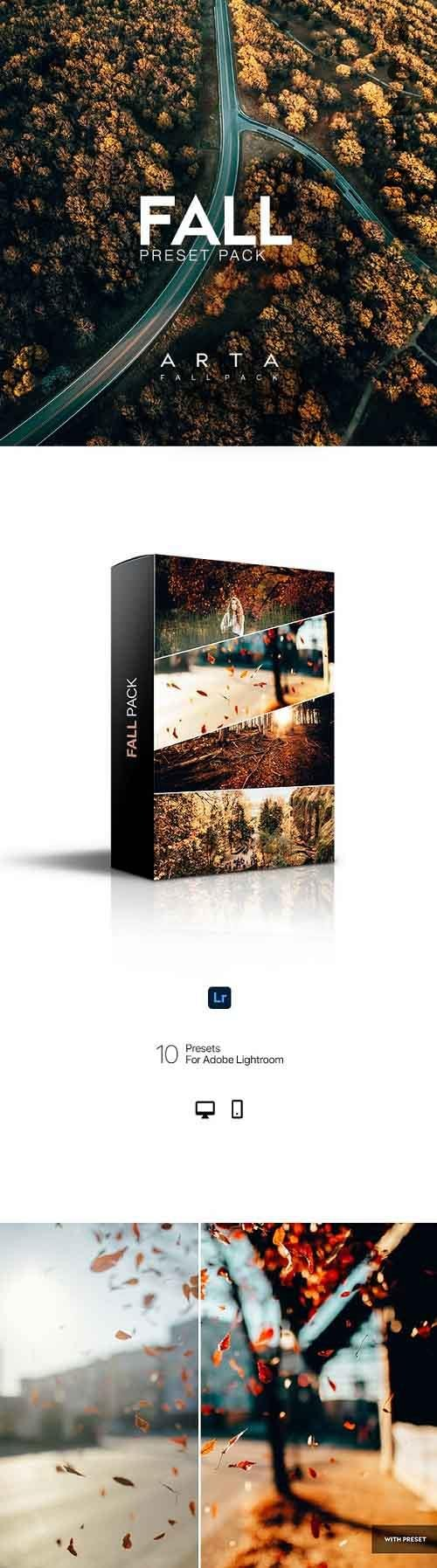 ARTA Fall Pack For Mobile and Desktop Lightroom 28906487