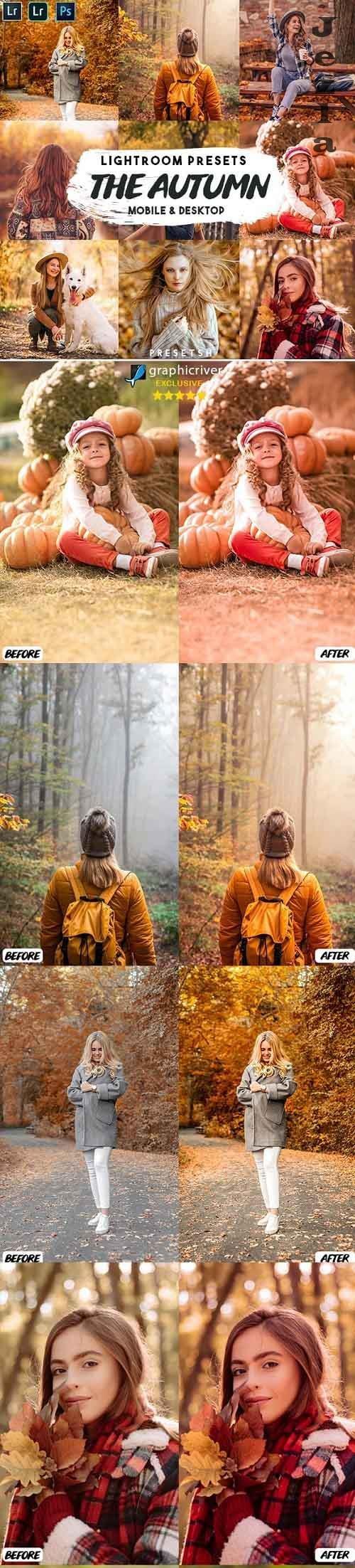 CreativeMarket - The Autumn Lightroom Presets 5506478