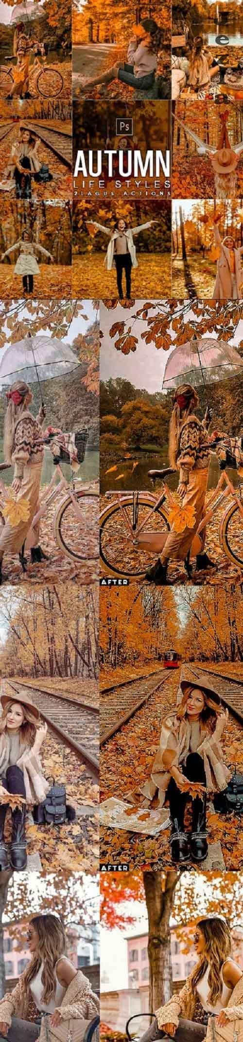 Autumn Lifestyles Photoshop Actions - 28885903