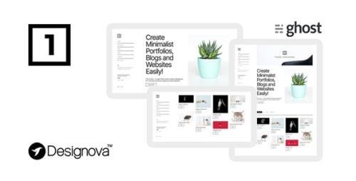 ThemeForest - One v1.0 - Simple & Minimal Ghost Theme for Portfolios / Websites / Blogs - 29071636