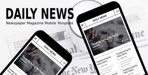 ThemeForest - Daily News v1.0 - Newspaper Magazine Mobile Template - 20426392