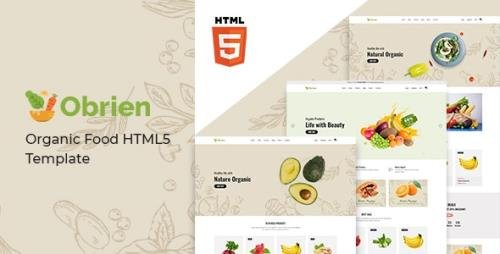 ThemeForest - Obrien v1.0 - Organic Food HTML5 Template - 28968380