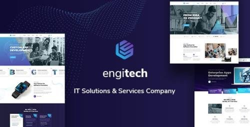 ThemeForest - Engitech v1.0 - IT Solutions & Services Template - 28944475
