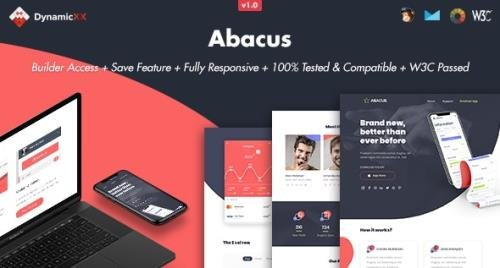 ThemeForest - Abacus v1.0 - Responsive Email + Online Template Builder - 28583476
